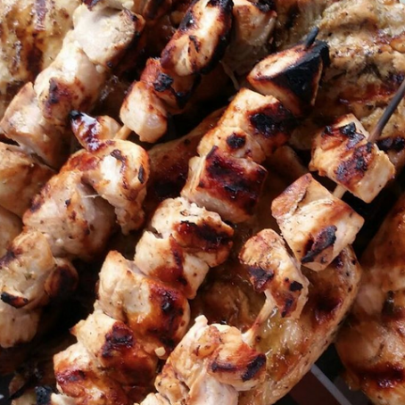 Best Chicken Tawouk - Chicken Kabobs