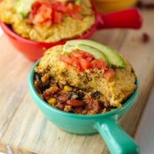 Two Bean Cornmeal Casserole