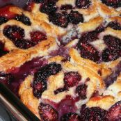 Fresh Blackberry Cobbler