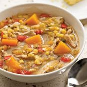 Turkey Squash Soup