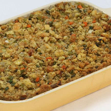 Stuffing with Ritz Crackers, Apples, Walnuts & Mushrooms