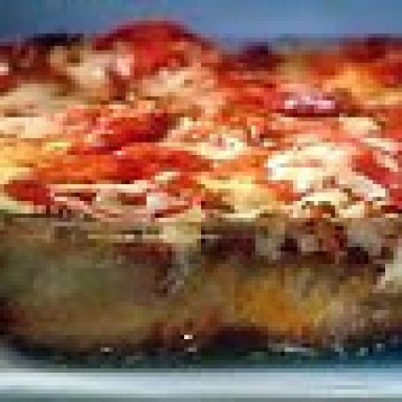 Blazy's Pepperoni Studded Lasagna