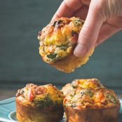 Crustless Mini Quiche Muffins