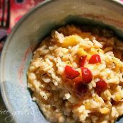 Roasted Acorn Squash Risotto