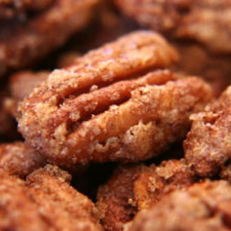 Cinnamon Vanilla Sugared Pecans