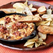 Hot Caramelized Onion Dip with Bacon and Gruyère