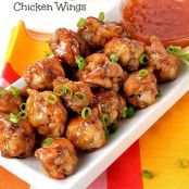 Crispy, Sweet & Spicy Chicken Wings