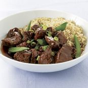 Five-Spice Pork with Snap Peas, Slow-Cooker