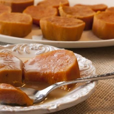 Camotes Enmielado - Candied Sweet Potatoes