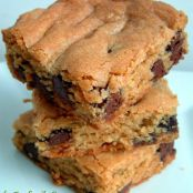 Thick & Chewy Chocolate Chip Cookie Bars, from Cook's Illustrated