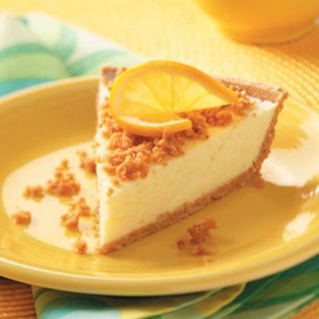 Honey Maid Creamy Lemon Cheesecake Pie