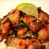Baked Cilantro Lime Chicken Wings