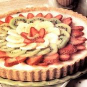 Banana-Kiwi-Strawberry Tart