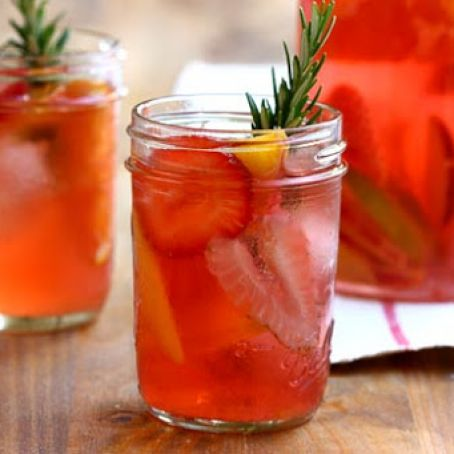 Strawberry Rosemary Sangria