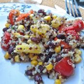 Black Bean & Pineapple Quinoa Salad