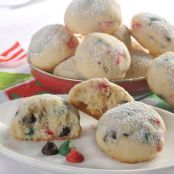 Holiday Snowball Cookies