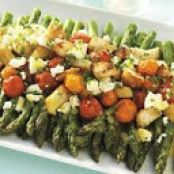 Asparagus & Tomato Salad with Feta