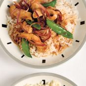 Spicy Orange Stir Fry
