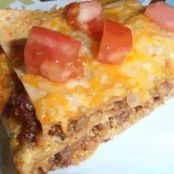 Tortilla and Sausage Breakfast Casserole