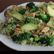 Warm Millet & Broccoli