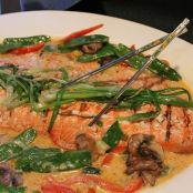 Thai Style Wild Alaskan Sockeye Salmon Filet