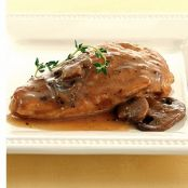 Pressure Cooker Turkey Breast with Marsala & Mushrooms