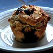 Baked:  Muffins: (Paleo) Blueberry Lemon Coconut Muffins