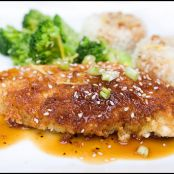 Wasabi-Crusted Chicken Breasts