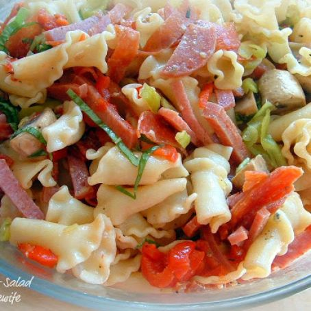 Antipasto Pasta Salad, from Cook's Country