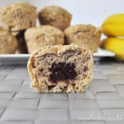 "Muffins - ""Nutella"" Filled Banana Muffins"
