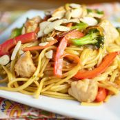 Pork Orange Lo Mein