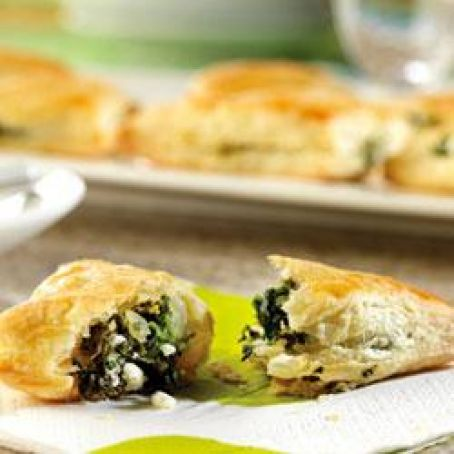 Spinach and Feta Mini-Calzones