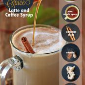 Healthier Homemade Pumpkin Spice Latte & Coffee Syrup