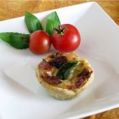 Bacon Tomato Mini Tarts