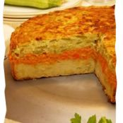 Tri-Layered Vegetable Kugel