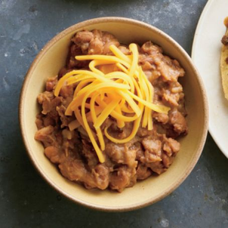 Cheesy, Smoky Pinto Beans