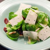 Brussel Sprout Salad with Manchego Cheese