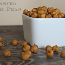 Roasted Chickpeas in an Air Fryer