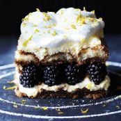 Blackberry Tiramisu