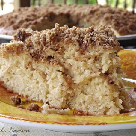 Double Layer Crumb Cake