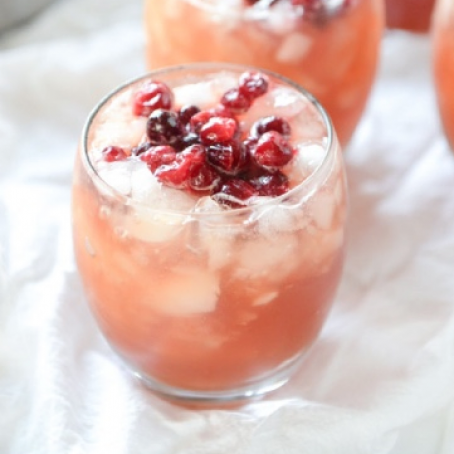 Cranberry Cider Punch