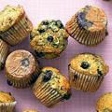 Healthy Banana-Blueberry Muffins