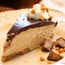 Texas Chocolate Peanut Butter Pie