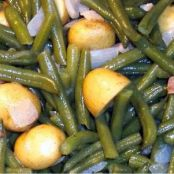 Green Beans and Country Ham, Southern-Style