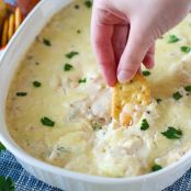 Hot Cheese Shrimp Dip