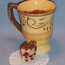 Cranberry Oat Scone in a Mug