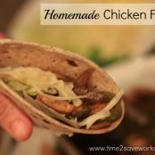 Easy Chicken Fajitas W. W.Points Plus 12