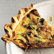 Zucchini & Caramelized Onion Quiche