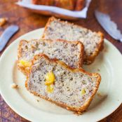 Pineapple Coconut Oil Banana Bread