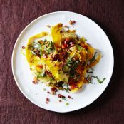 Polenta with Autumn Squash & Pancetta